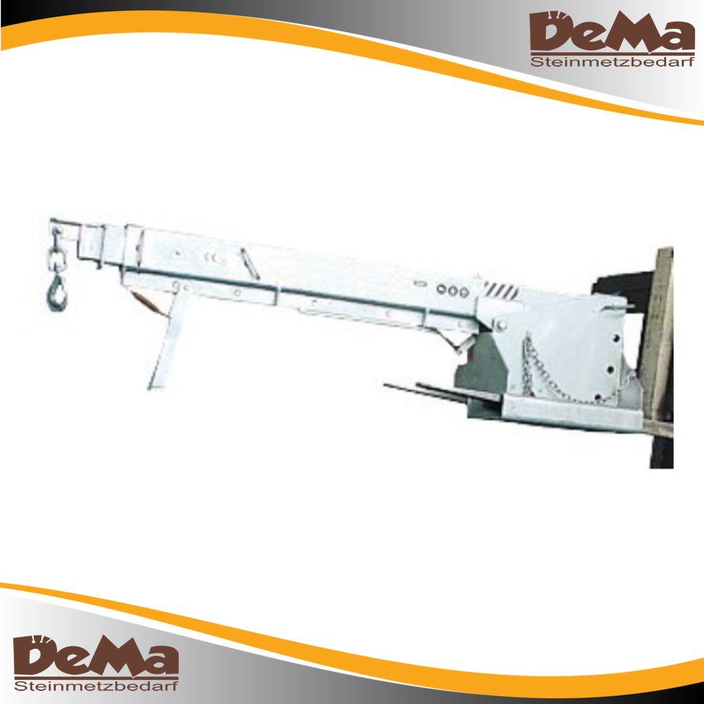 DeMa Gabelstapler Teleskoparm Feuerverzinkt